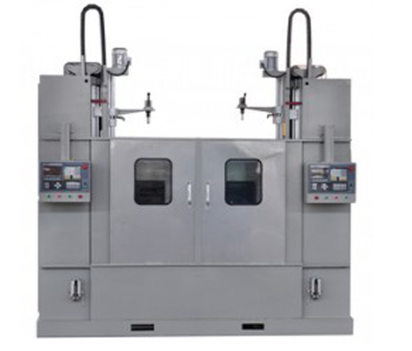 Double station quenching machine