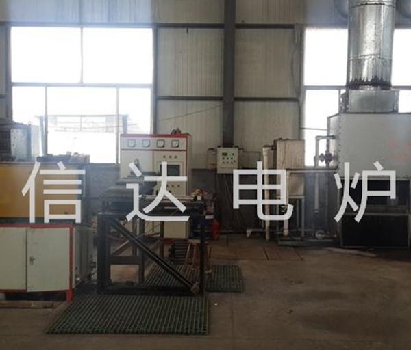 Application site of 250 kW diathermy furnace