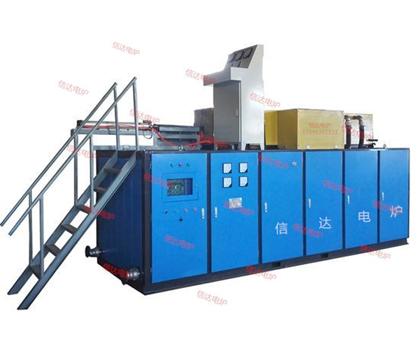 Power furnace integrated induction heating equipment