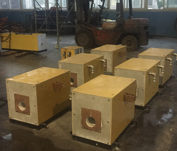 Manufacture of diathermy furnace body