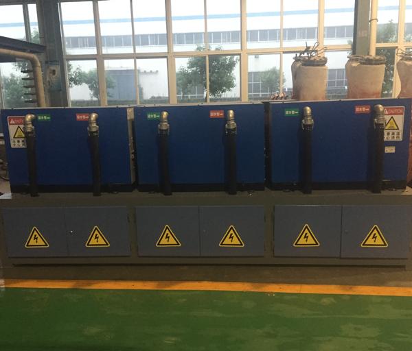 110 round steel diathermy furnace body