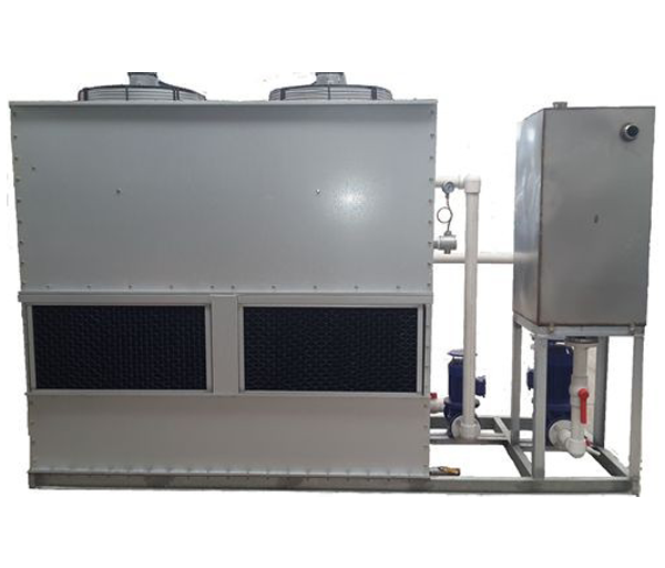 Integral cooling system of aluminum zinc plate