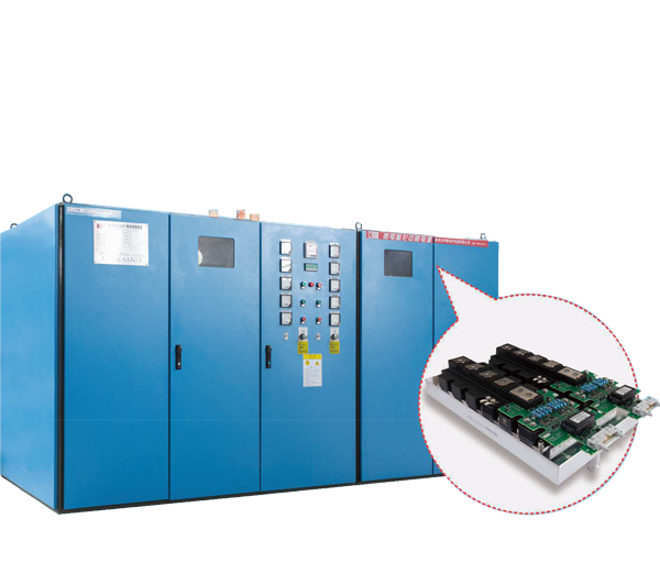 IGBT800-4000kw module intermediate frequency power supply (one for two)